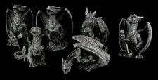 Kleine Drachen Figuren - 6er Set - Gothic Deko Fantasy