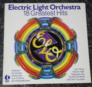 ELECTRIC LIGHT ORCHESTRA - 18 GREATEST HITS (VINYL LP) E.L.O.