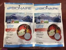 2 packs x 15 tablets Bionaire Aroma Scented Tablets Apple Cinnamon For Aroma Fan