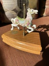Willitts Designs Legend Of The Rose A Carousel Romance Music Box