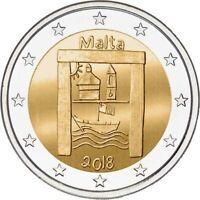 MALTA Cultural Heritage - 2 Euro Commemorative Coin - 2018 Issue UNC - RARE