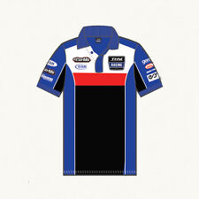 THM YAMAHA MOTORSPORT RACING TEAM POLO SHIRT Gr. L  - NEU !