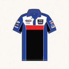 Autriche Yamaha Motor Sport Racing Team Polo Shirt Taille L-NEUF!