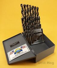 Drill Hog USA 29 Pc HI-Molybdenum M7 Drill Bit Set Drill Bits Lifetime Warranty