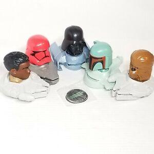 McDONALD'S Happy Meal Toy Star Wars Chewbacca Boba Finn lucasfilms Desk Displays