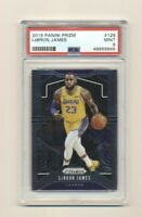 2019 Lebron James Panini Prizm #129 PSA 9 Mint Lakers QTY