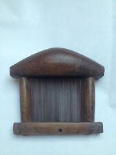 PEIGNE A TISSER africain en bois inconnu objet de curiosité ancien outil métier