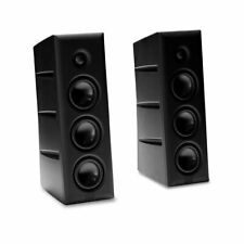 HRT Stage Speaker Pair NEW Black Audiophile Monitors MUSE Electronics