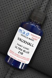 VAUXHALL ULTRA BLUE 21B/4CU PAINT TOUCH UP KIT 30ML SCRATCH CHIP BRUSH