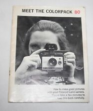 Polaroid Colorpack 80 - Camera User Manual