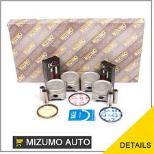 Fit 98-99 Mitsubishi Eclipse Galant 4G64 Full Gasket Set Piston Rings Bearings