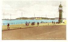 "Dorset - ""Weymouth Pier from the Jubilee Clock"""