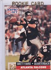 BRETT FAVRE RC 1991 Football NFL Draft ROOKIE CARD Falcons Packers Vikings FARVE