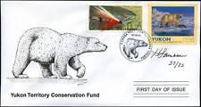 1998 Yukon Territory Polar Bear Wildlife by H Lambson