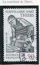 TIMBRE FRANCE OBLITERE N° 2467 EMOULEUR AU TRAVAIL / Photo non contractuelle