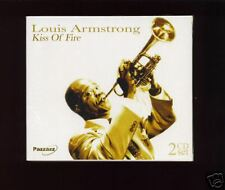 LOUIS ARMSTRONG - KISS OF FIRE - NEW 2 CD BOX SET