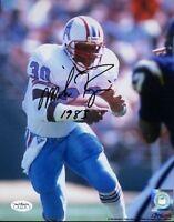 Mike Rozier Heisman Signed Jsa Cert Sticker 8x10 Photo Autograph Authentic