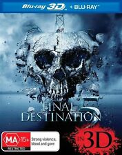 Final Destination 5 3D (Blu-ray, 2012) NEW
