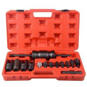 14 Piece Injection Puller Tool Bosch Delphi Deso Siemens Diesel Injector Remover