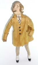 Kammer and Reinhardt German Cloth Stockinette Character Doll antique felt wire