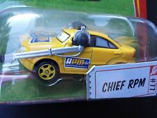 DISNEY PIXAR CARS CHIEF RPM ROR SAVE 5% WORLDWIDE FAST SHIP