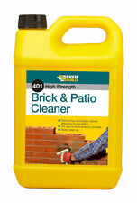 EVERBUILD 401 BRICK AND PATIO CLEANER 5 LITRE REMOVES MORTAR AND CEMENT STAINS