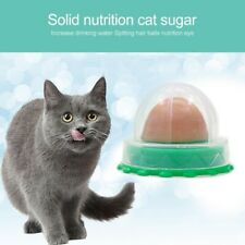 Cat Sugar Candy Solid Nutrition Licking Catnip Snacks Healthy Ball Energy Snack