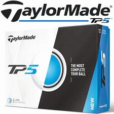 TAYLORMADE TP5 2017 MODEL 5 PIECE WHITE GOLF BALLS 1 DOZEN / SALE @ 40% OFF RRP