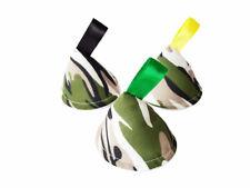 Camuflaje Pee Tipi x3/Wee detener conos Teepees, bebé ducha regalo/Verde Camuflaje