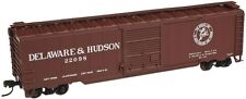 Atlas # 50001595 50' Single-Door Boxcar Delaware & Hudson # 22098 N Mib