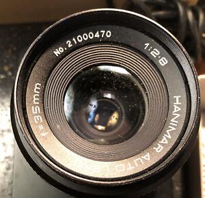 Hanimar Auto Lens 1:2.8 f=35mm