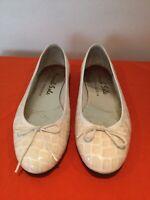 WOMENS FRENCH SOLE BY JANE WINKWORTH FLATS BALLERINAS SHOES, UK 6.5 EU 40.5