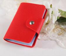 Portadocumentos de hombre Tarjetero en color principal rojo