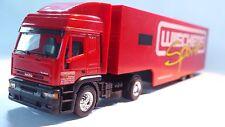 Herpa 038119 Iveco ET HD Racing Transporter Semitrailer Wiechers 1:87 Scale (PL)