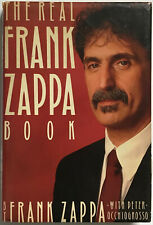 The Real Frank Zappa Book SIGNED by Frank Zappa FIRST PRINTING