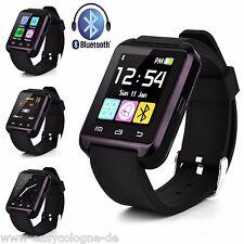 Aipker SmartWatch - schwarz Armband Uhr für Android Black /  Schwarz  Bluetooth