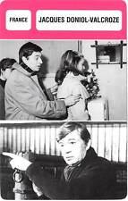 FICHE CINEMA :  JACQUES DONIOL-VALCROZE -  France (Biographie/Filmographie)