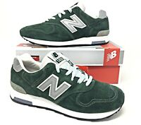 New Balance 1400 Classics Shoes -Suede-Mountain Green/Silver Made in USA M1400MG
