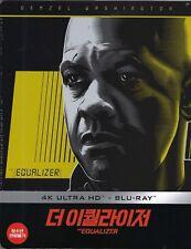 The Equalizer 4k Limited Edition Steelbook W/j-card Region a B & C Korea IMPORT