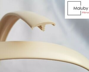 15mm Cream 10 METRE T Trim Double Lipped Knock on Edging for Furniture Board