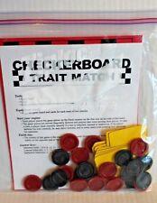 Checkerboard Trait Match Science Activity on Traits & Behaviors Grades 3-5 New