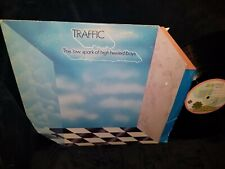 TRAFFIC The Low Spark of High Heeled Boys LP PINK ISLAND LABEL