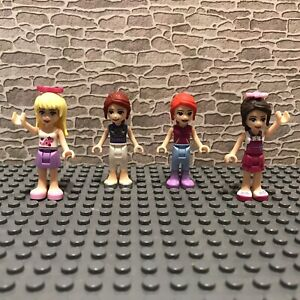 LEGO friends  Minifigure bundle x 4