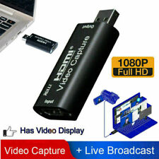 HDMI to USB 2.0 Video Capture Card 1080P HD Recorder Game Video Live Streaming