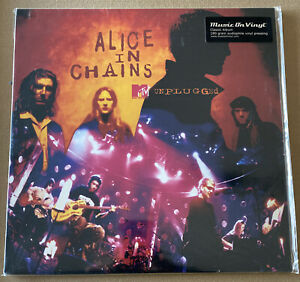 ALICE IN CHAINS!! MTV UNPLUGGED! 180 GRAM AUDIOPHILE VINYL PRESSING MINT! SEALED