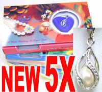 Wholesale 10 Set//Lot fashion LOVE Wish Pearl Collier Set Oyster Drop Pendentif