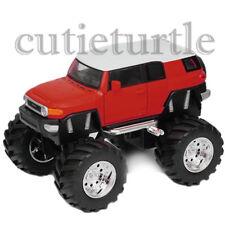 "Welly 4.75"" Monster Truck Big Foot Toyota FJ Cruiser Diecast Car 47003-8D Red"