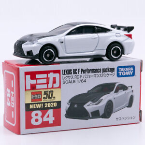 Takara Tomy Tomica No. 84 LEXUS RC Performance Package 1/64 Diecast Car Toys