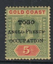 TOGO SGH56 - 5/ green and red/yellow - Mounted mint
