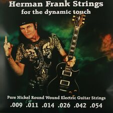 Pyramid Herman Frank Strings .009-.054 E-Gitarre Saiten SATZ E-Guitar Strings